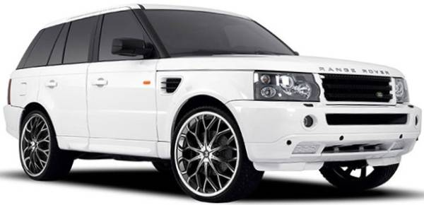 2009 Range Rover on II Crave #9 Machine Black