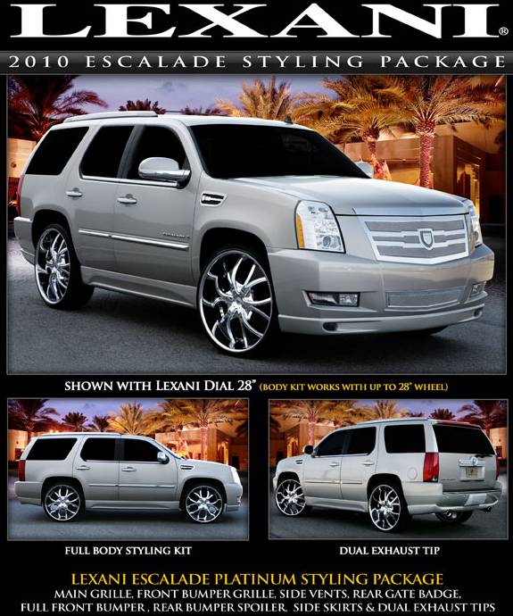 Lexani Body Styling Package for 2010 Escalade