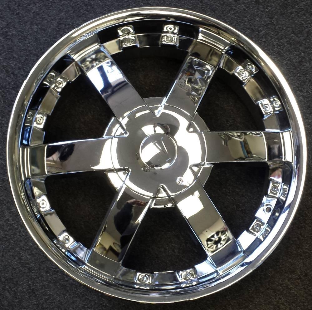 Velocity VW705 Chrome Wheels