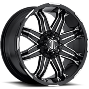 II Crave Offroad NX-7 Black Machined
