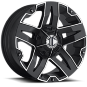 II Crave Offroad NX-5 Satin Black Machined