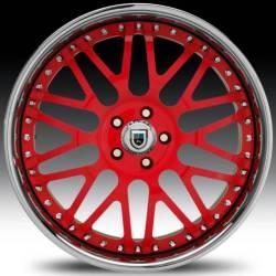AF120 Red w/Chrome Lip