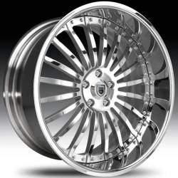 Asanti AF122 Chrome Wheels