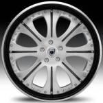 AF131 2-Tone Black & Silver w/Black Outer