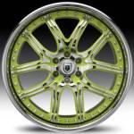AF150 2-Tone Chrome and Green