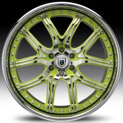 AF150 2-Tone Chrome and Green