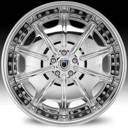 Asanti AF204 Chrome Wheels