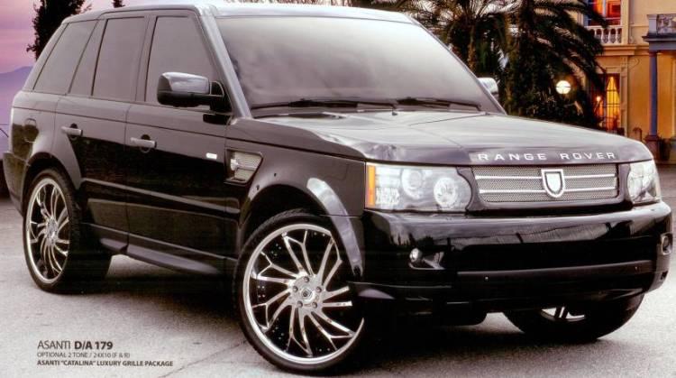 Asanti D/A 179 Deep Access Wheels for Range Rover