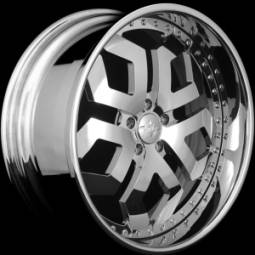 AZA Forged Diamondback Chrome Wheels