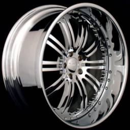 AZA Forged Fabulous Chrome Wheels