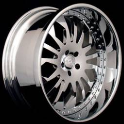 AZA Forged Roulette Chrome Wheels