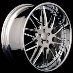 AZA Forged Sleek Chrome Wheels