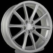 Ace Alloy Convex Matte Silver Machined Face
