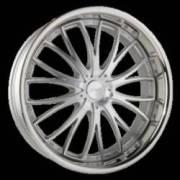Ace Alloy Eminence Matte Silver Wheels