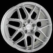 Ace Alloy Mesh 7 Matte Metallic Silver Wheels