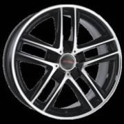 Ace Alloy V12 Black Machined Face