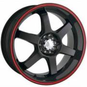 Akita Racing 455 Black Red Ring