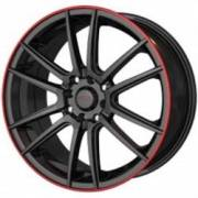 Akita Racing 477 Black Red Ring