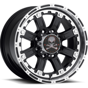American Outlaw S106 Armor Black Machined