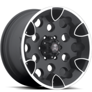 American Outlaw S114 Bullet Black Machined