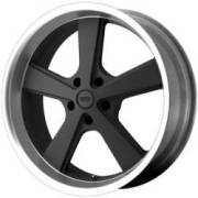 American Racing VN701 Nova Mag Gray w/Machined Lip