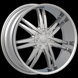 26x10 BENTCHI B14 Chrome Wheels