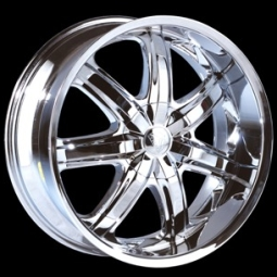 26x10 BENTCHI B7Chrome Wheels