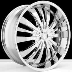 BSA 378 Chrome Wheels