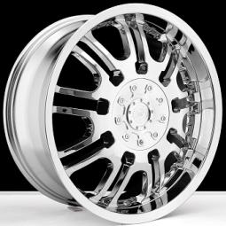 BSA 380 chrome wheels