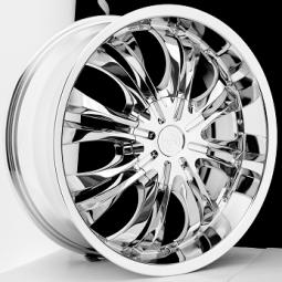 BSA 381 Chrome Wheels