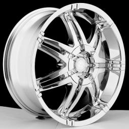 BSA 382 Chrome Wheels