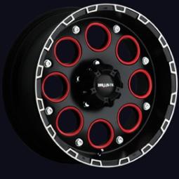 Ballistic Off Road 813FB - Enigma Flat Black