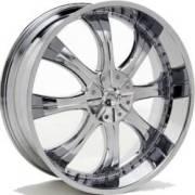 Bassani B107 Chrome Wheels