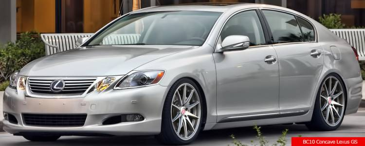 Bavaria BC10 Concave on Lexus GS