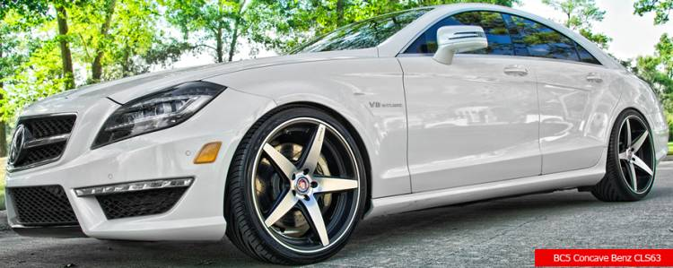 Bavaria BC5 Concave on Mercedes CLS63