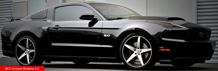 Bavaria BC5 Concave on Ford Mustang