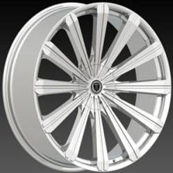 Borghini BW 18 Chrome Wheels
