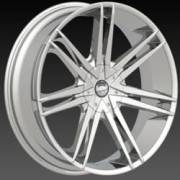 Borghini BW 20 Chrome Wheels