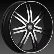 Borghini BW14 M Machined Black
