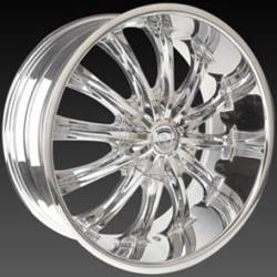 Borghini BW 15 Chrome Wheels