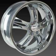 Borghini BW 200-A Chrome Wheels