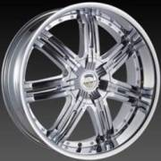 Borghini BW 25 Chrome Wheels