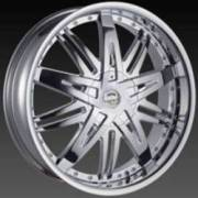 Borghini BW 27 Chrome Wheels