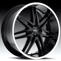 Boss Motorsports 332 Black