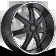 Boss Motorsports 345 Black Superfinished Stripe