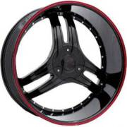 Bzo Magic King 25 Black Red Outerline
