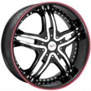 Bzo Rapture 24 Black Machined Red Outer