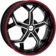 Bzo Runner R 35 Black Machined Red Outer