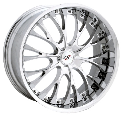 Bzo Z06 2pc Chrome