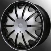 Chrome Element E07 Platinum Machined Black